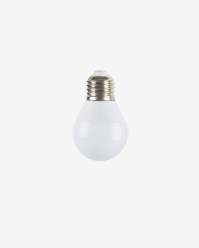 Halogen LED Bulb E27 of 3W and 45 mm neutral light