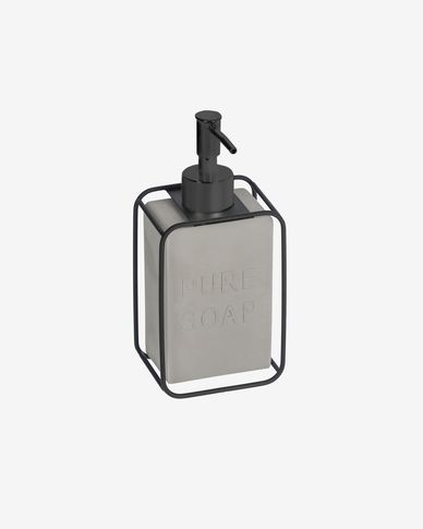 Jainen black soap dispenser