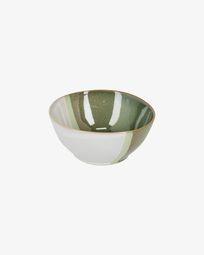 Bowl Naara groen en wit