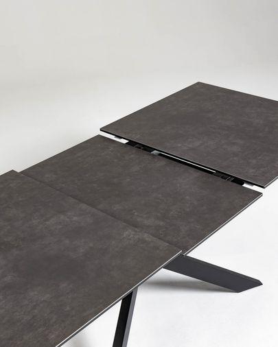 Taula extensible Atminda 160 (210) x 90 cm porcelànic