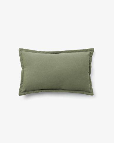 Kussensloop Lisette 30 x 50 cm groen