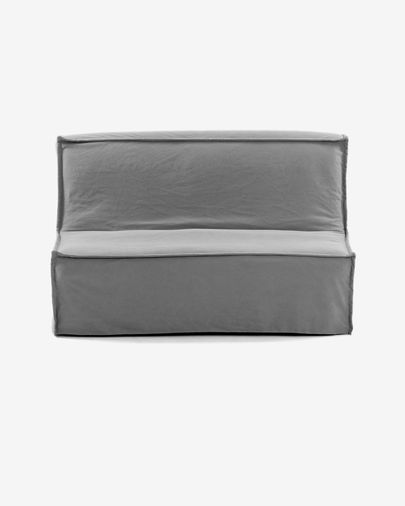 Slaapbank Lyanna 140 cm grijs