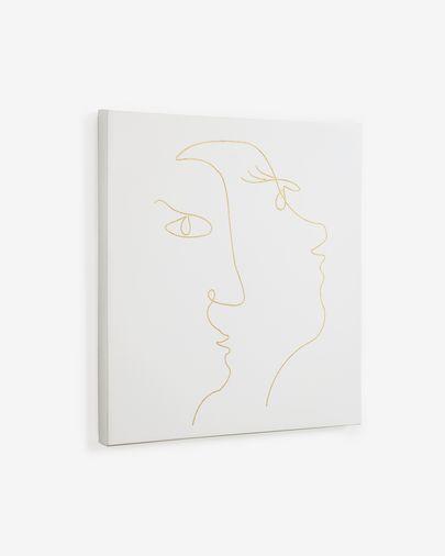 Lienzo cuadrado Nisma 50 x 50 cm