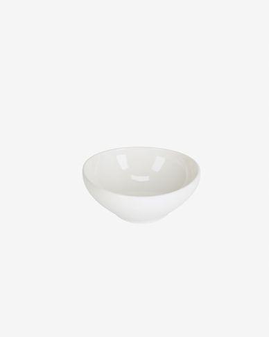Pahi small round porcelain bowl in white