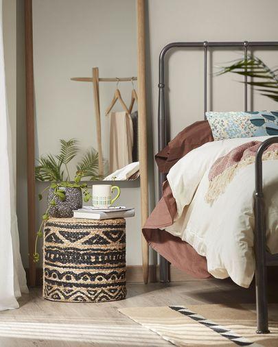 Bed Naomy 160 x 200 cm grafiet