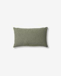 Fodera per cuscino Kam 30 x 50 cm verde
