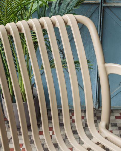 Krzesło ogrodowe Isabellini beżowe