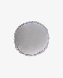 Clarice grey cushion cover Ø 45 cm