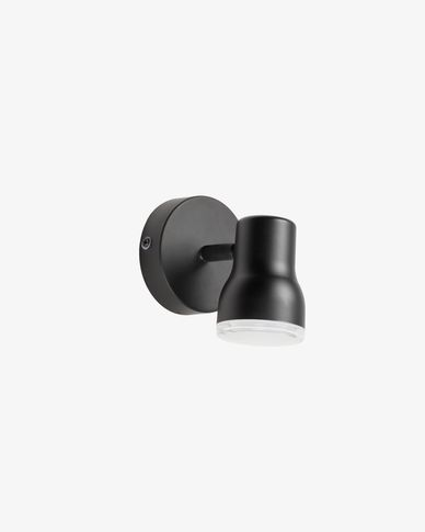 Tehila black wall lamp