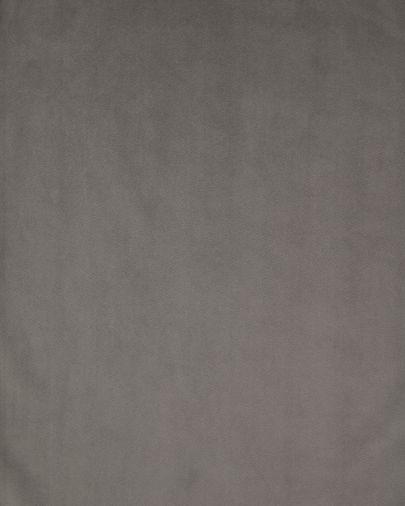 Poltrona Debra em veludo cinza