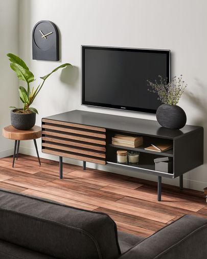 Moble TV Kesia amb xapa de noguera 120 x 48 cm