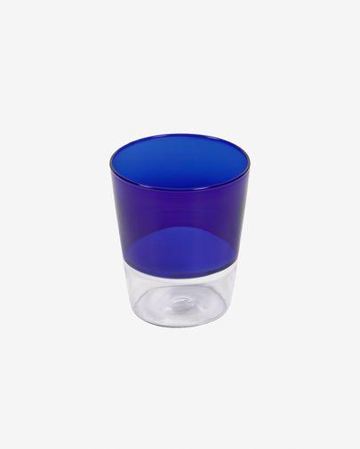 Diara transparent and blue glass