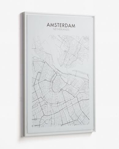 Uptown Amsterdam picture 50 x 70 cm