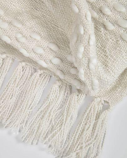 Manta Beva blanco 125 x 150 cm