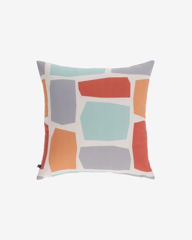 Calantina kussenhoes vierkant met meerdere kleuren 45 x 45 cm