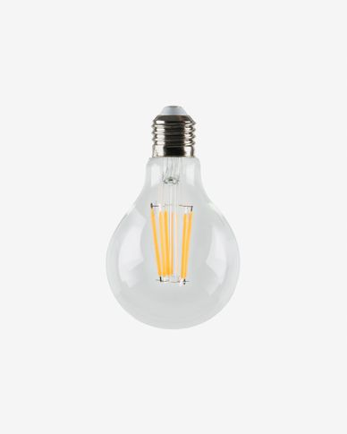 Halogeen LED-lamp E27 van 4W en 60 mm warm licht