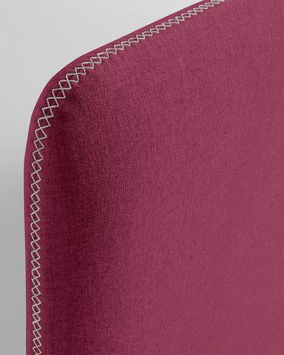 Fodera letto Dyla 90 x 190 cm bordeaux