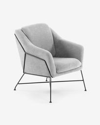 Grey Brida armchair