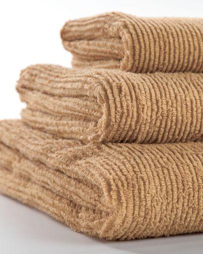 Miekki hand towel beige