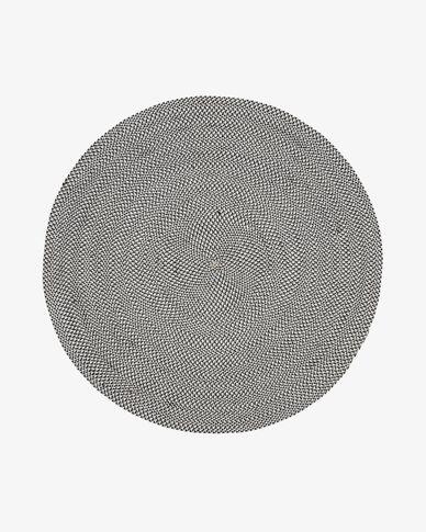 Tapijt Rodhe Ø 150 cm grijs