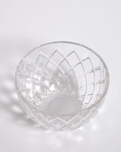 Morley transparent glass bowl