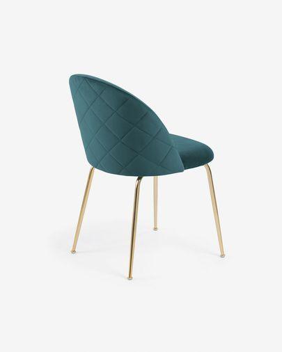 Cadeira Ivonne turquesa