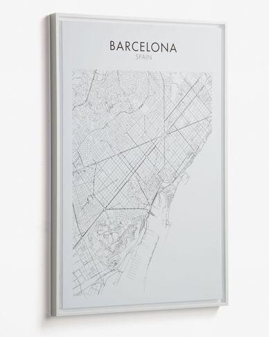 Cuadro Uptown 50 x 70 cm Barcelona