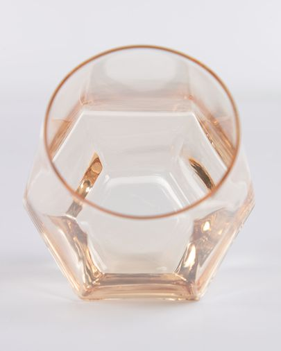 Lukina orange glass