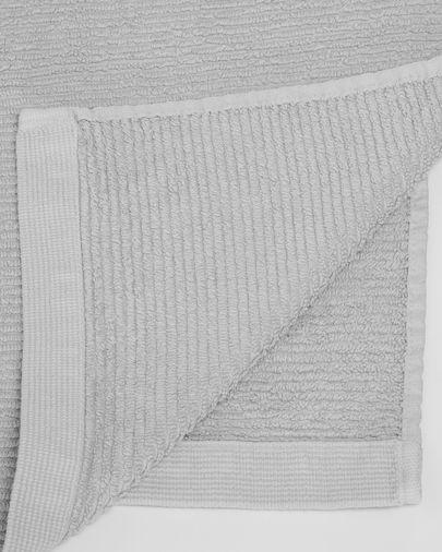 Asciugamano Miekki grande grigio chiaro