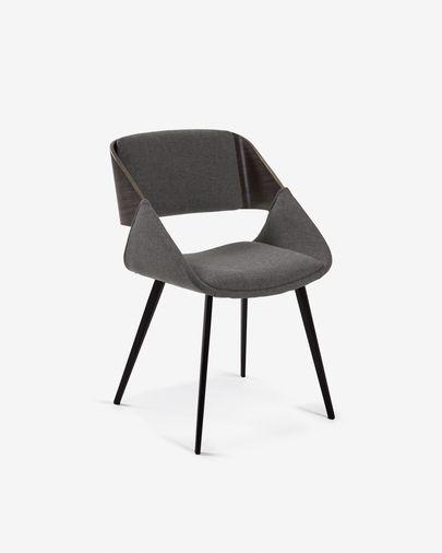 Cadira Herrick gris fosc