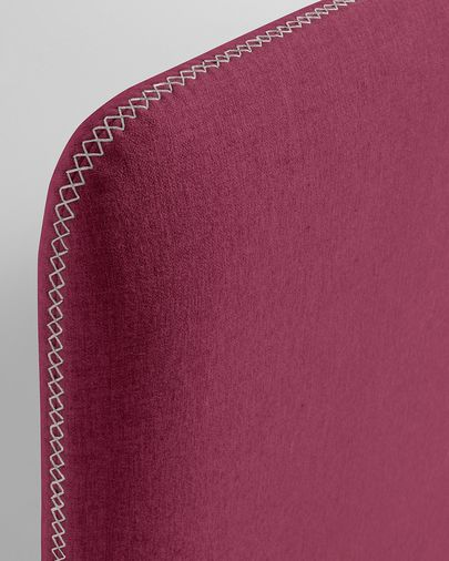 Burgundy Dyla bed cover 160 x 200 cm