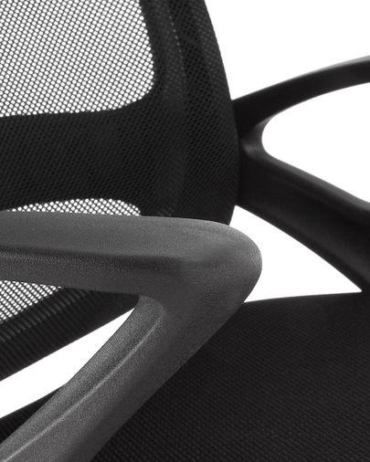 Black Tangier desk chair
