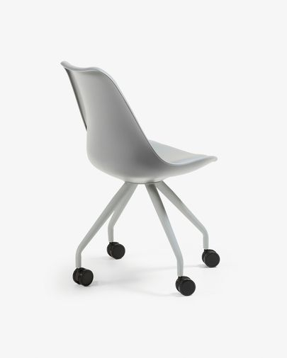 Ralf Schreibtisch Stuhl, grau