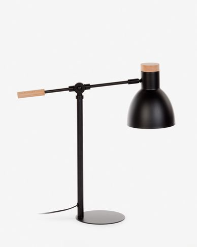 Lampe de table Tescarle noir