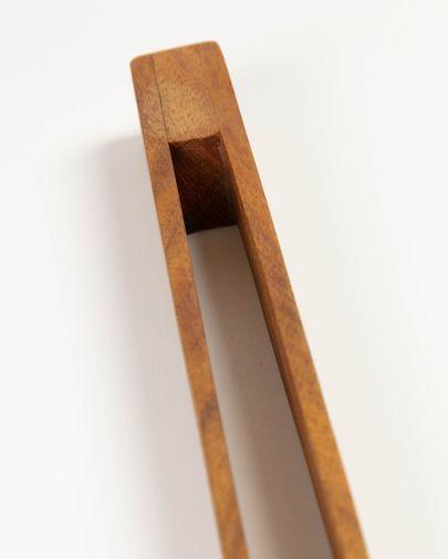 Pinza de servir Yanila de madera maciza de acacia