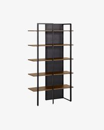 Walnut wood Nadyria shelves 100 x 180 cm