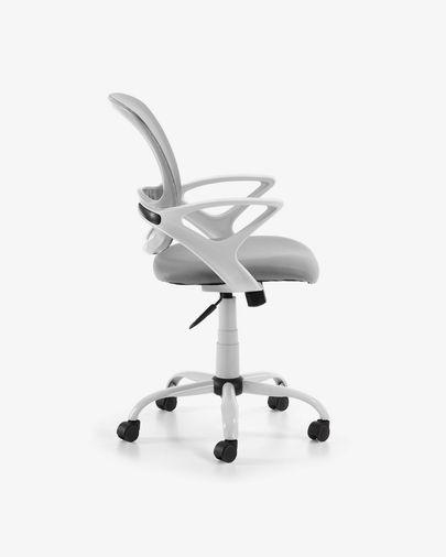 Tangier Schreibtisch Stuhl, grau