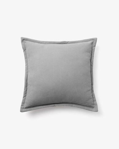 Fodera per cuscino Lisette 45 x 45 cm grigio