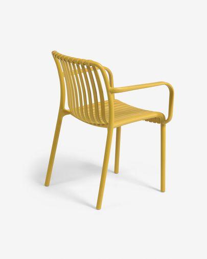 Cadira d'exterior Isabellini mostassa