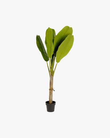 Planta artificial Banano con maceta negro 160 cm