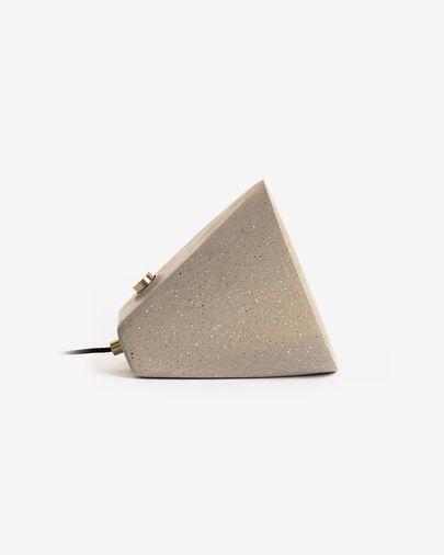 Lámpara de sobremesa Arilia de cemento 28 cm