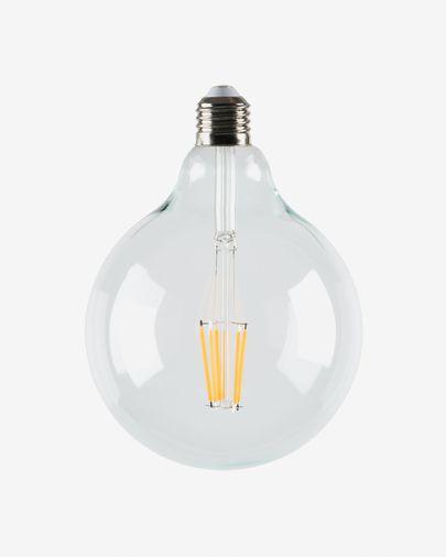 Halogeen LED-lamp E27 van 6W en 120 mm warm licht