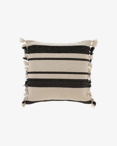 Brafton black stripes cushion cover 45 x 45 cm
