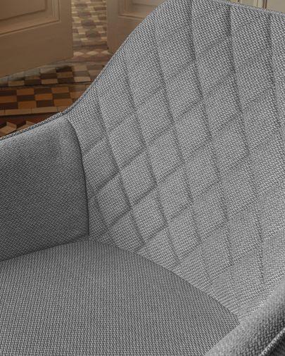 Cadira Amira gris clar