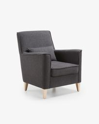 Fauteuil Glam graphite