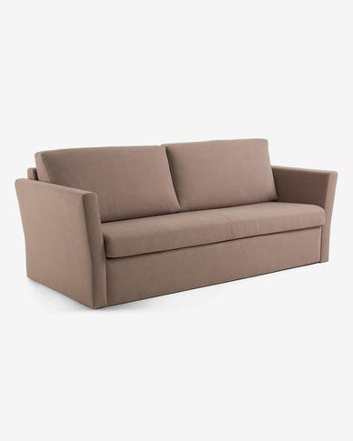 Divano letto Riverside 140 cm  marrone