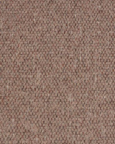 Sofá Blok chaise longue esquerdo de 3 lugares cor-de-rosa 330 cm
