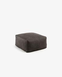 Graphite Indam pouf 60 x 60 cm