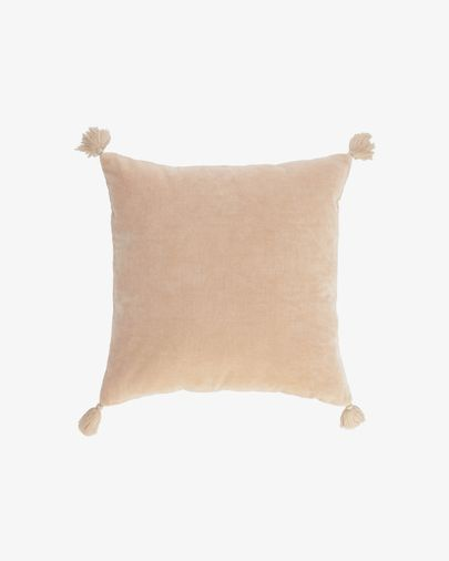 Fodera cuscino Carmin 45 x 45 cm velluto rosa