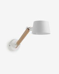 Muse white wall lamp